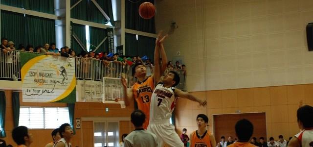 H27 高総体 バスケットボール競技