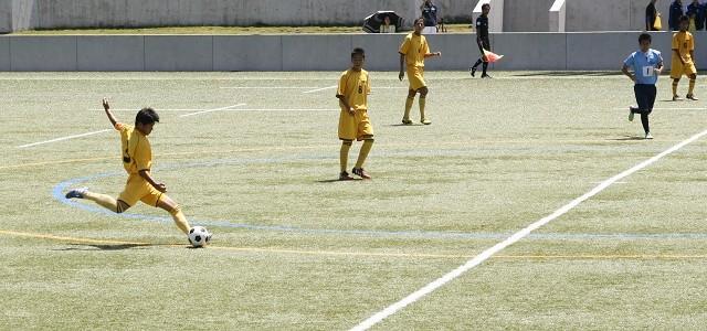 H27 高総体 サッカー競技