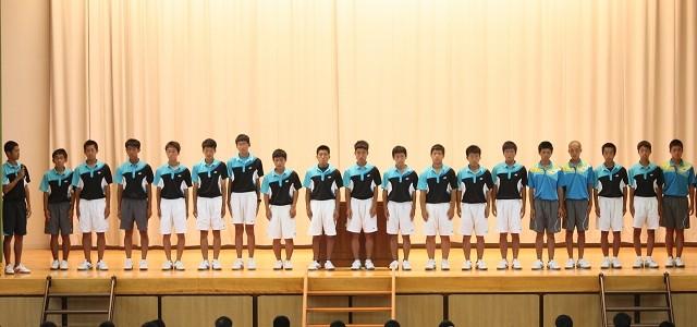 H27 高総体 ソフトテニス競技