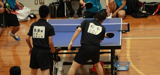 H27 高総体 卓球競技