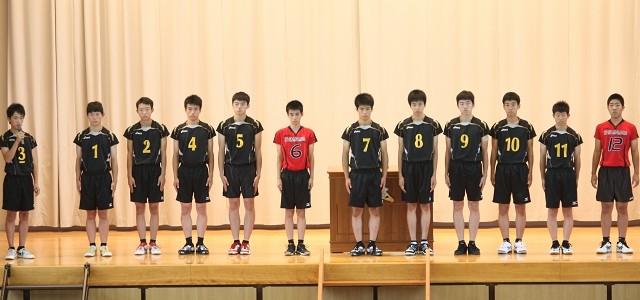 H27 高総体 バレーボール競技