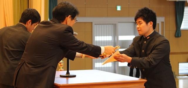 伝達表彰式・駅伝壮行式