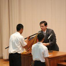 第2回伝達表彰・国体強化選手指定書授与式