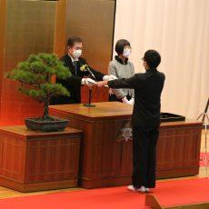 令和2年度 第56回卒業証書授与式